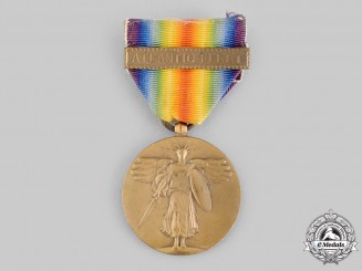 United States. A World War I Victory Medal, Atlantic Fleet