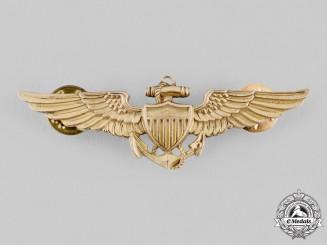 United States. A Balfour-Made Naval Aviator Badge, c. 1944