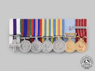 Canada, Commonwealth. A Second War & Korean War Military Cross Miniature Group