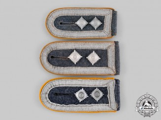 Germany, Luftwaffe. A Lot of Flight Personnel Oberfeldwebel Shoulder Straps