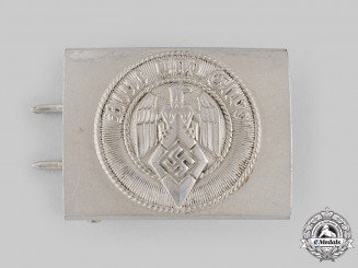 Germany, HJ. An EM/NCO's Belt Buckle by F.W. Assmann & Söhne