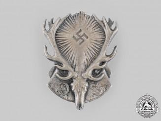 Germany, Third Reich. A Hunting Society (Deutscher Jägerschaft) Membership Badge