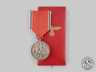 Germany, Third. An Anschluss Medal, with Case, by the Vienna Mint