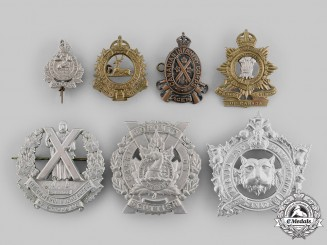 Canada, Commonwealth. A Lot of Seven Badges