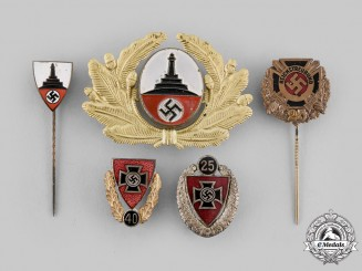 Germany, Third Reich. A Lot of Veterans Group Badges