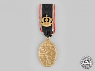 Germany, Weimar Republic. A Kyffhäuser League Medal with Crown 1914-1918 by Hosaeus
