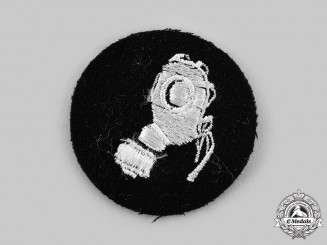 Germany, SS. A Gas Protection NCO's Sleeve Insignia