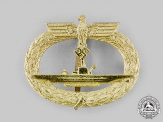 Germany, Kriegsmarine. A U-Boat War Badge, by Schwerin