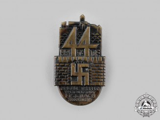 Germany, SA. A 1934 Eisenach SA Meeting Badge, by Kühr & Langer