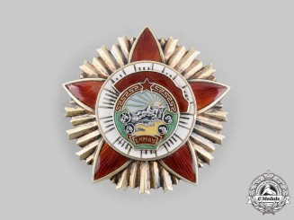 Mongolia, People's Republic. An Order of the Red Banner of Military Valour, c.1950