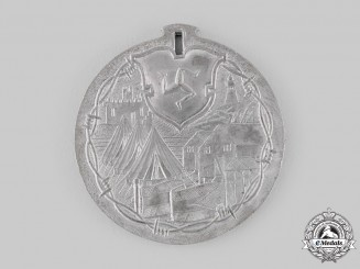 Germany, Imperial. An Isle of Man Douglas Internment Camp German Prisoner of War Medal