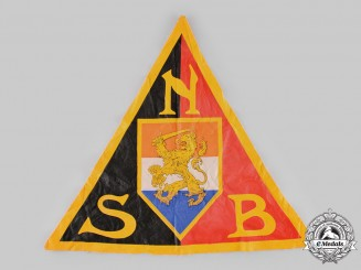 Netherlands, NSB. A National Socialist Movement (NSB) Flag Insignia
