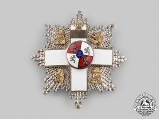 Spain, Fascist State. An Order of Military Merit, II Class Star, c.1950