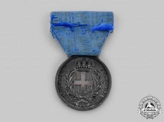 Italy, Kingdom. A Franco-Austrian War Military Valour Medal, Silver Grade, by G. Ferraris, c.1859