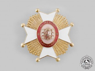Spain, Transition Period. An Order of Public Health, Grand Cross Star, c.1975