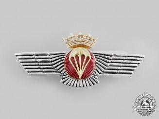 Spain, Fascist State. An Air Force Parachutist's Qualification Badge, c.1950