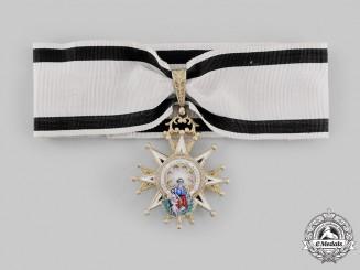 Spain, Kingdom. A Civil Order of Charity, Commander, Purple & White Distinction, c.1920