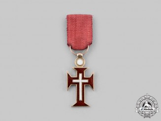 Portugal, Republic. An Order of Christ in Gold, Miniature, c.1918
