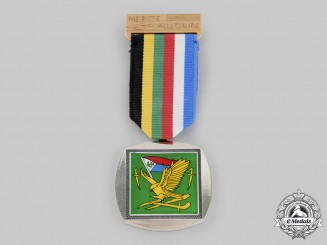 Chad, Republic. A National Liberation Front (NLF) Military Merit Medal