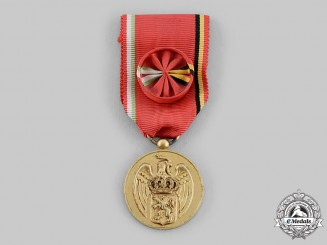 Mexico, Republic. A Mexican-Belgian Cultural Institute Medal, Officer