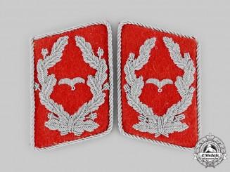 Germany, Luftwaffe. A Set of Flak Major Collar Tabs