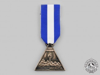 Nicaragua, Republic. A Medal of Merit, by N.S.Meyer, NY