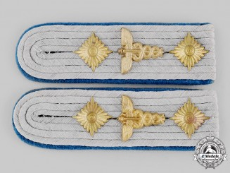 Germany, Heer. A Set of Truppen-Sonderdienst Administrative Shoulder Boards