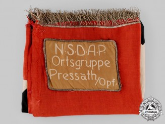 Germany, NSDAP. A Ortsgruppe Pressath Flag