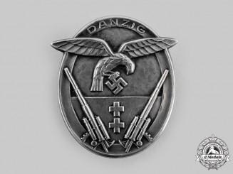Danzig, Free State. A Rare Danzig Flak Badge