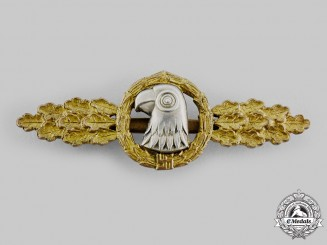 Germany, Luftwaffe. A Reconnaissance Squadron Clasp, Gold Grade, by JMME & Sohn