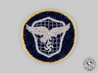 Germany, Luftwaffe. A Transport Driver Specialist Patch with Distinguished Service Cord