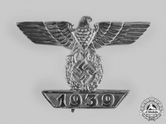 Germany, Wehrmacht. A Clasp to the 1939 Iron Cross, I Class, by Otto Schinkle
