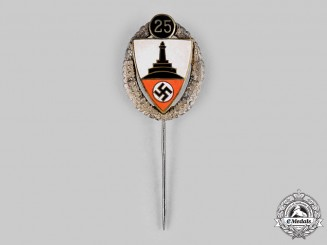 Germany, NSRL. A 1941 National Socialist League of the Reich for Physical Exercise (NSRL) Member's Stick Pin