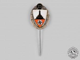 Germany, Kyffhäuserbund. A Kyffhäuserbund Membership Badge for 25 Years of Military Service