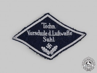 Germany, Luftwaffe. A Technische Vorschule der Luftwaffe (Preparatory Technical School of the Luftwaffe) Patch