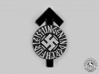 Germany, HJ. A Proficiency Badge, Black Grade, by Gustav Brehmer
