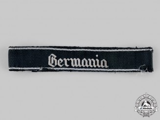 Germany, SS. A SS-Standarte Germania Cuff Title
