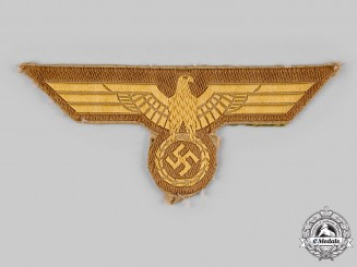 Germany, Kriegsmarine. A Tropical EM/NCO's Tunic Breast Eagle