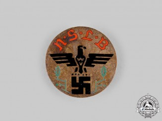 Germany, Third Reich. A National Socialist Teachers League Membership Badge, by HCA Timm