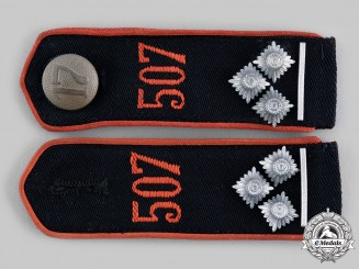 Germany, HJ. A Pair of HJ Shoulder Boards, RZM Tagged