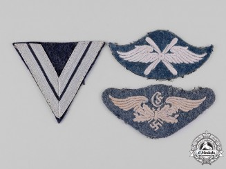 Germany, Luftwaffe. A Lot of Trade and Rank Insignia