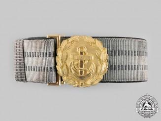 Germany, Kriegsmarine. An Officer Brocade Dress Belt