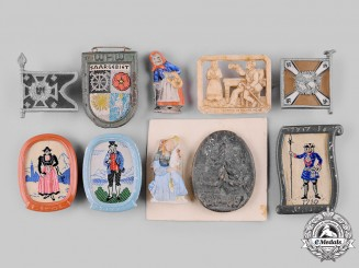 Germany, Third Reich. A Lot of Badges and Figurines