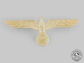 Germany, Third Reich. A Kriegsmarine Breast Eagle