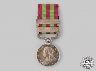 United Kingdom. An India Medal 1895-1902, 18th Bengal Lancers