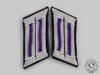 Germany, Heer. A Pair of Army Chaplain Collar Tabs