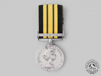 United Kingdom. An Africa General Service Medal 1902-1956, Constable Mwangangi Kasekya