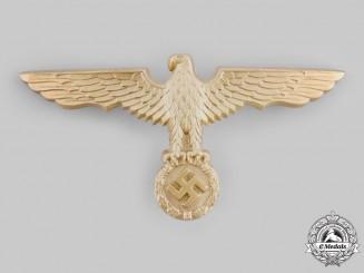 Germany, Kriegsmarine. A Kriegsmarine Pith Helmet Eagle