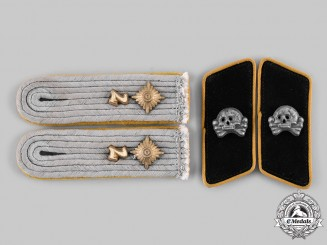 Germany, Heer. A Set of Cavalry/Reconnaissance Oberleutnant Rank Insignia