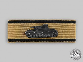 Germany, Wehrmacht. A Rare Tank Destruction Badge, Gold Grade